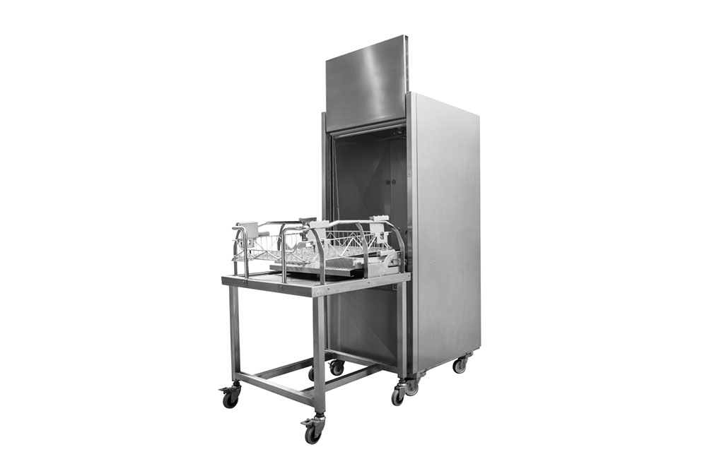 Stainless steel parts cleaning machine