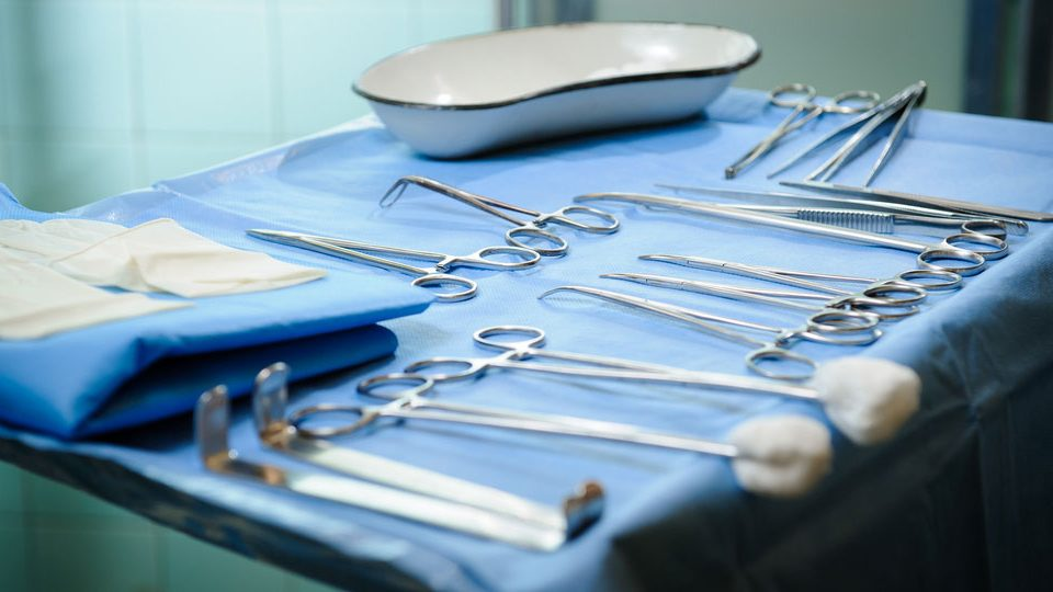 Sterilized medical tools